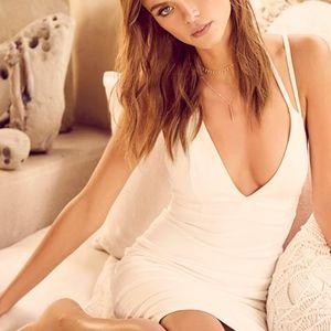 Lulus Sexy White Dress NTW